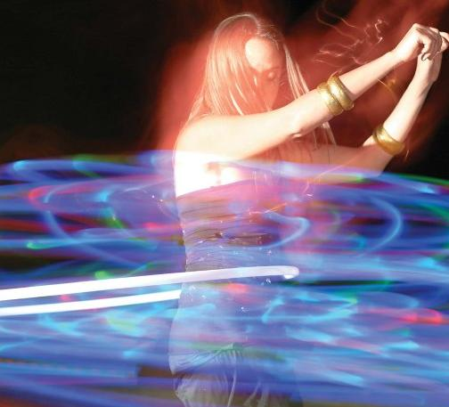 LED hula hoop from Craft Magazine