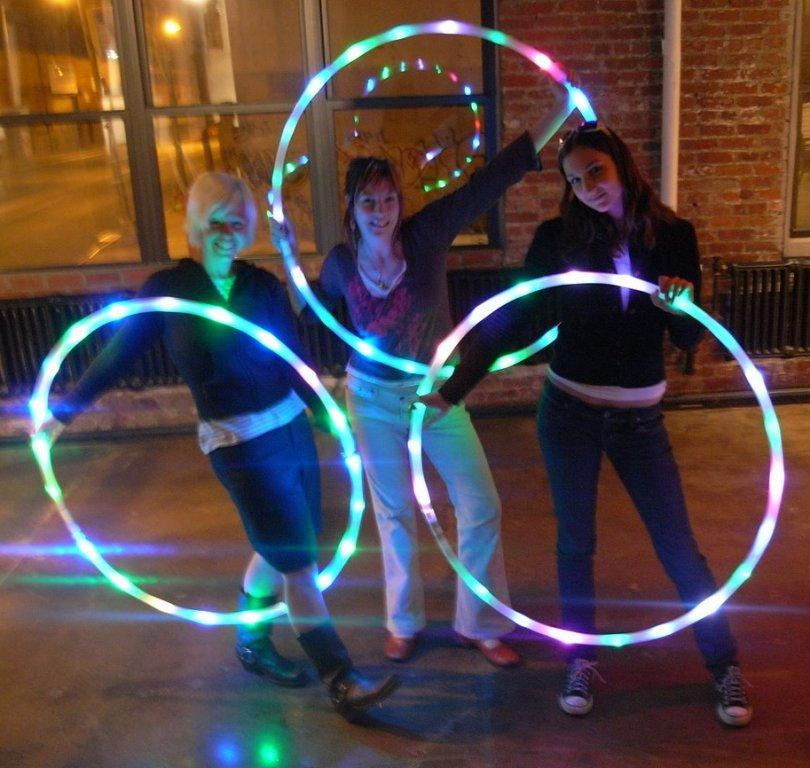 ProdMod LED Hula Hoop Workshop 4-16-8