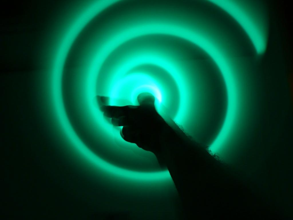 LED Finger Hoop